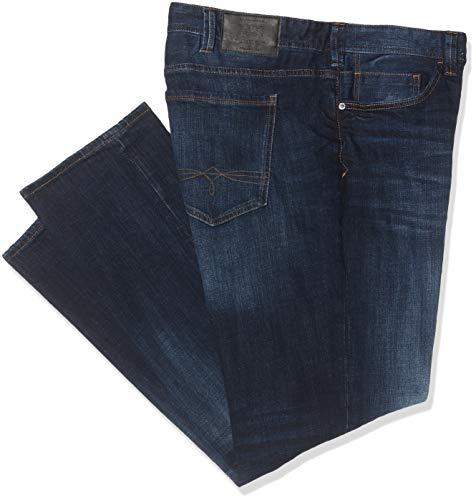 s.Oliver Big Size Herren 15.909.71.5950 Straight Jeans, Blau (Blue Denim Stretch 56z4), W38/L36 (Herstellergröße: 38/36)