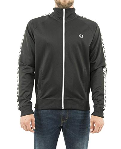 Fred Perry Taped Track Jacket, Chaqueta Deportiva