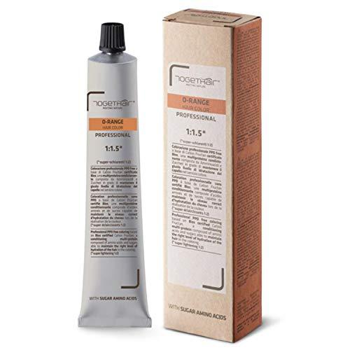 Tintura O-Range Hair Color - Colorazione Professionale PPD Free - 100 ml - Togethair (7.34 Biondo Dorato Rame)