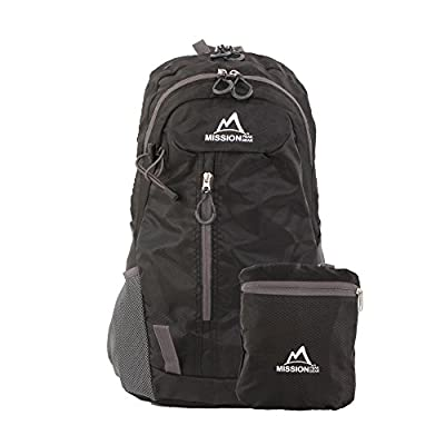 MISSION PEAK GEAR Fast 2100 30L Foldable Packable Hiking Backpack Daypack + Warranty, Ultra Lightweight,, Extra Durable, Camping, Outdoor, Traveling, Biking, School, Carry On Backpack