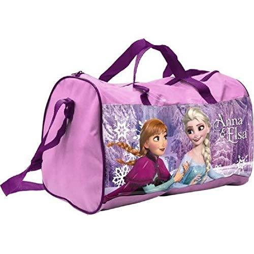 BWR Frozen Sporttasche mit Anna und Elsa, klein, Rosa