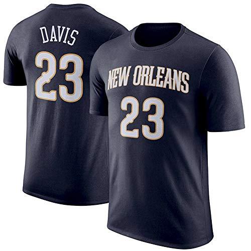 T-Shirt NBA New Orleans Pelicans Anthony Davis Top da Basket da Uomo, Confortevole, XL