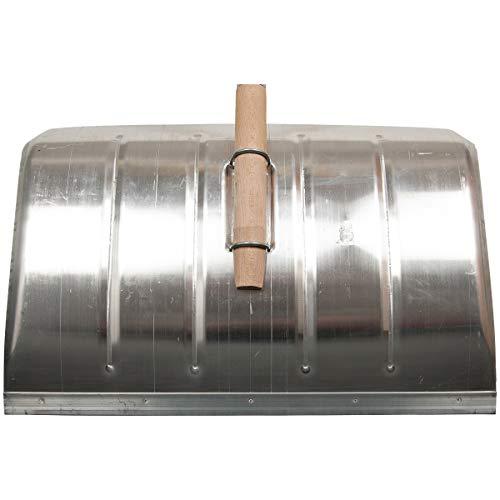 SHW-FIRE 59023 Schneeschieber Schneeschaufel Aluminium Ergonomisch mit Aluminium Stiel mit D-Griff - 7