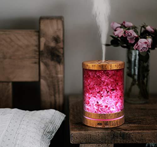 AIGOCEER Essential Oil Salt Lamp Diffuser