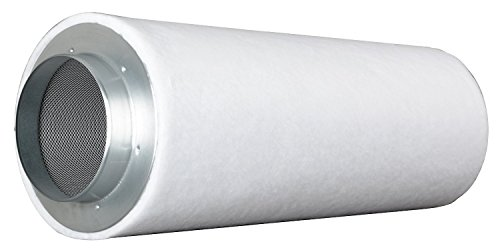 Prima Klima ECO Line AKF Aktivkohle-Filter Luft-Filter Geruchsfilter Abluft-Filter Grow Filter für Rohrventilatoren vers. Größen (700-m³ - 900-m³ 160mm Flansch)