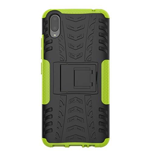 SsHhUu VIVO V11 Pro Hülle, Premium Rugged Stoßdämpfung und Staubabweisend Kompletter Schutz Hybrid-Koffer mit Ständer Telefon Kasten für VIVO V11 Pro / V11 2018 (6.41