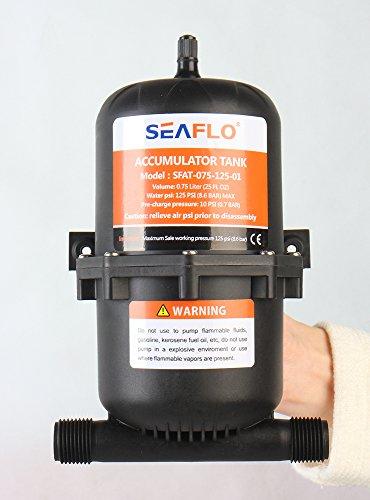 SEAFLO 0,75 / 1,0 Liter Druckspeicher