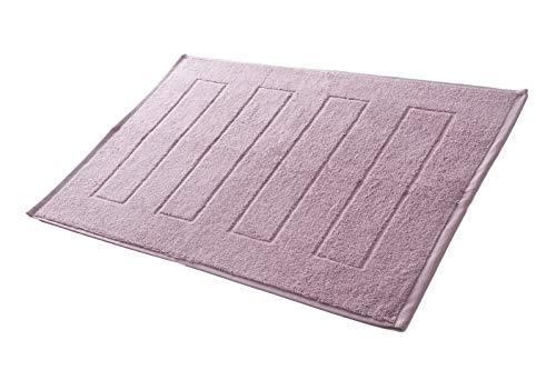 Hometex Premium Textiles Tapis de Bain Tapis de Douche 50 x 70 cm   100% Coton - ECOTEX 100 - Vieux Rose