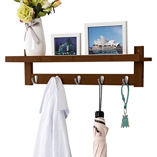 Best wall jacket coat rack shelf for 2020