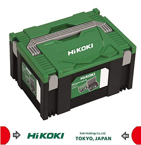 Hitachi Hikoki Transportkoffer, 295x395x210 mm, Grün Schwarz