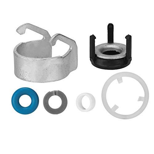 EBTOOLS Hochwertige Einspritzdichtung Reparatursatz für 06h998907a , Metall + Kunststoff + Gummi Einspritzdüse O-Ring Reparatursatz