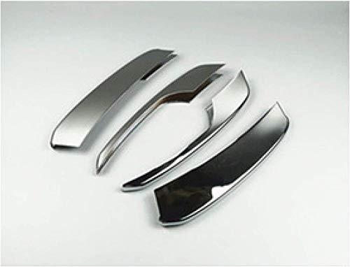 XGFCNB, für Audi Q5 2010-2016Auto-Styling-Konsole AC-SteuerrahmenabdeckungCD-Panel DekorativeVerkleidung InnenzubehörAuto-Aufkleber-Grau