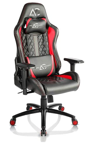 Savya home by Apex Crusader XI Gaming Office Chair (Red and Black)