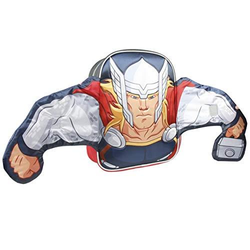 ARTESANIA CERDA Avengers Thor - Mochila Infantil, 31 cm, Gris