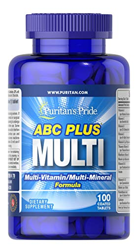 Puritan's Pride ABC Plus 100 Tabletten 70