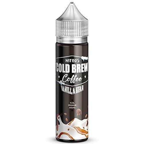 Vanilla Bean 15ml Longfill Aroma by Nitro's Cold Brew Coffee Nikotinfrei