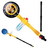 Funlove Car Wash Brush Kit with Long Handle Automatic Non-Electric 360 Degree Rotating Brush