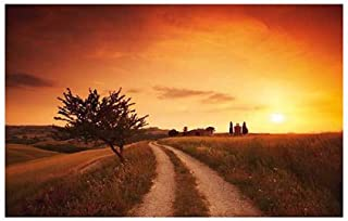 Under the Tuscan Sun by Mackie Landscapes Italy Sunsets Print Poster lg 39.25x27.5