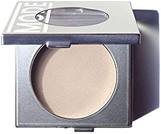 Mode Cosmetics, Eyeshadow Absolute, Well Suited (Matte Light Cream Beige) Natural Pressed Powder Eye Shadow Single Compact, Potent Color, Exceptional Wear, Skincare Ingredients, Cruelty Free, USA Made