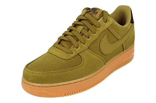 Nike Herren Air Force 1 '07 Lv8 Style Fitnessschuhe, Mehrfarbig Grün Braun Multicolor Camper Green Camper Green Gum Med Brown 300, 40 2/3 EU