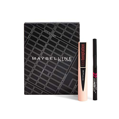Maybelline Make-up Set, mit Total Temptation Mascara und Hyper Precise Liquid Liner