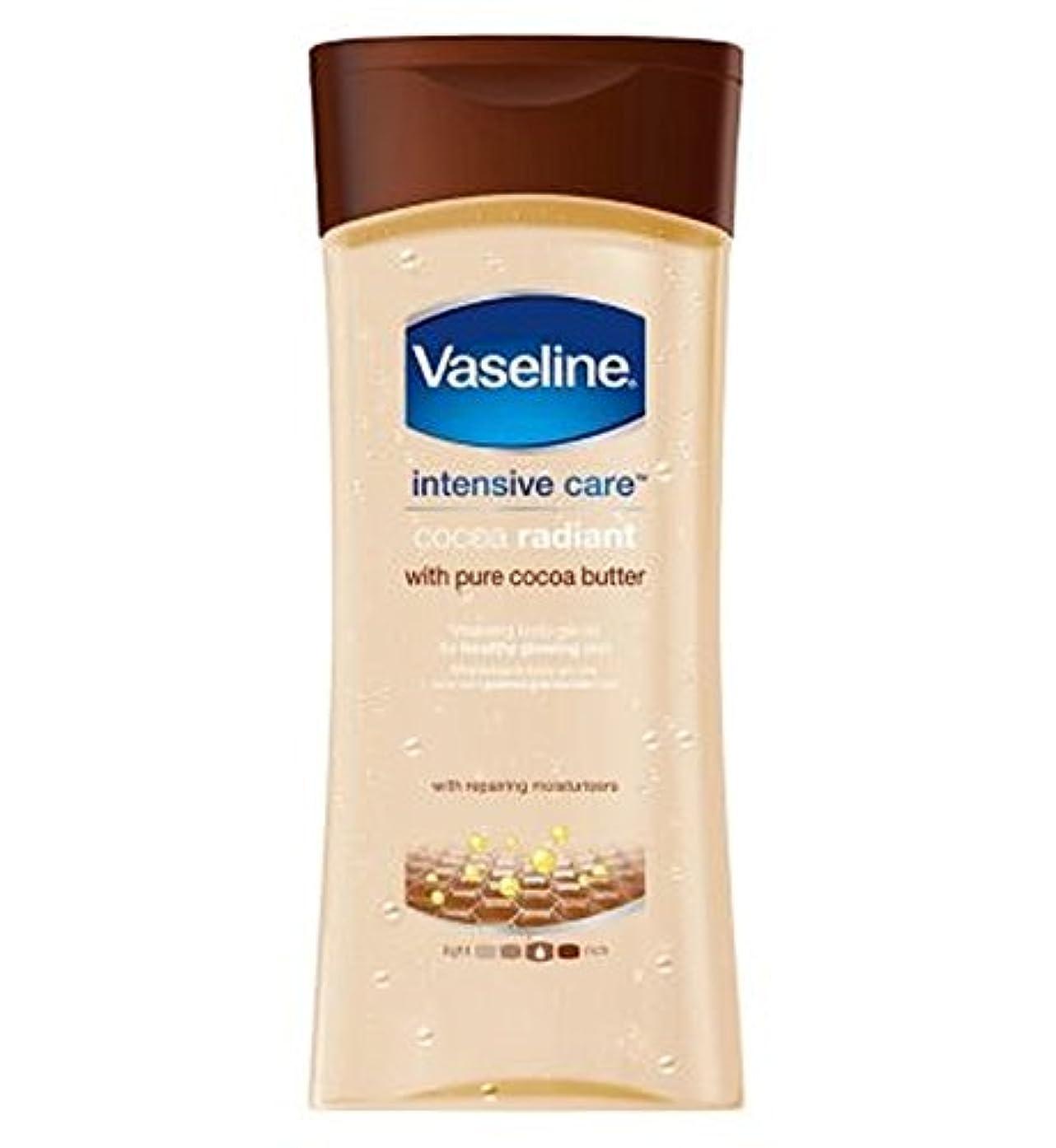 ベアリングに同意する柔らかさVaseline Intensive Care Cocoa Gel Oil 200ml - ワセリン集中治療ココアゲルオイル200ミリリットル (Vaseline) [並行輸入品]