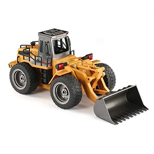 XLNB 2.4ghz RC Aleación Bulldozer Ingeniería Vehículo, Control Remoto Eléctrico Cargador De Coche Carretilla Elevadora Toy Boy Car