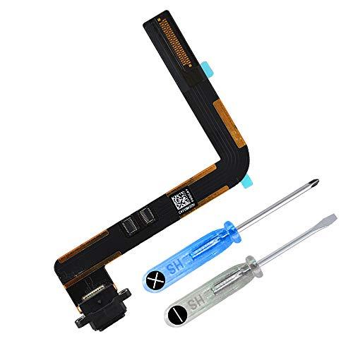 Outils Inclus Blanc MMOBIEL Connecteur Port Chargeur Compatible avec iPad Mini 2//3 C/âble Flexible de Remplacement