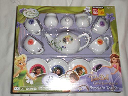 Tinker Bell 12 Piece Porcelain Tea Set