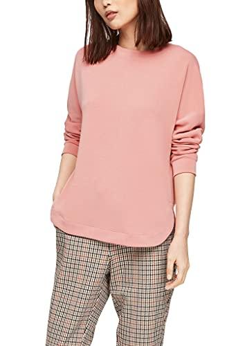 s.Oliver Damen 120.10.103.14.140.2064631 Sweatshirt, Blush, 40
