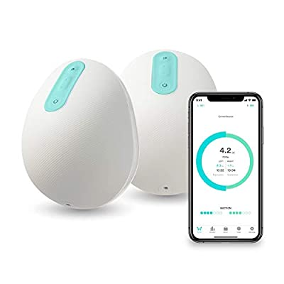 Willow Wearable Double Hands-Free Electric Breast Pump with App – Wireless and Quiet - Generation 3 (24mm)