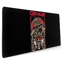 Gremlins マウスパッド 大型 おしゃれ ゲーミングマウスパッド キーボードパッド 防水 疲労軽減 水洗い 耐久性 滑り止め 高級感 Fpsゲーム 光学式/レーザー式に対応 900*400*3mm