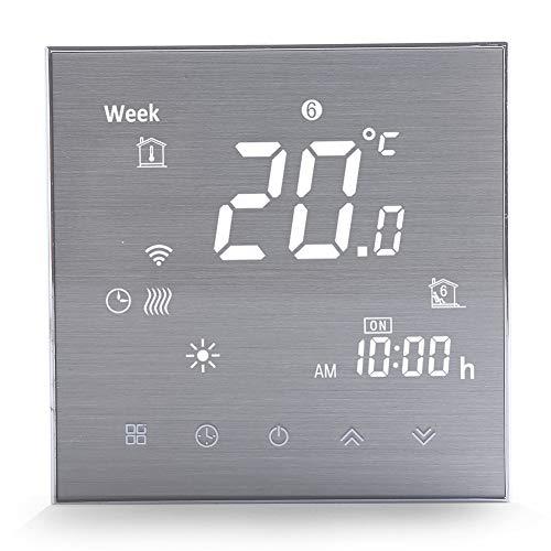WiFi Smart Thermostat für elektrische Heizung-Programmierbare WiFi-Thermostate für zu Hause (2019Update) Drahtloser digitaler Temperaturregler, Raumthermostat mit Kompatibel mit Alexa Google Home16A