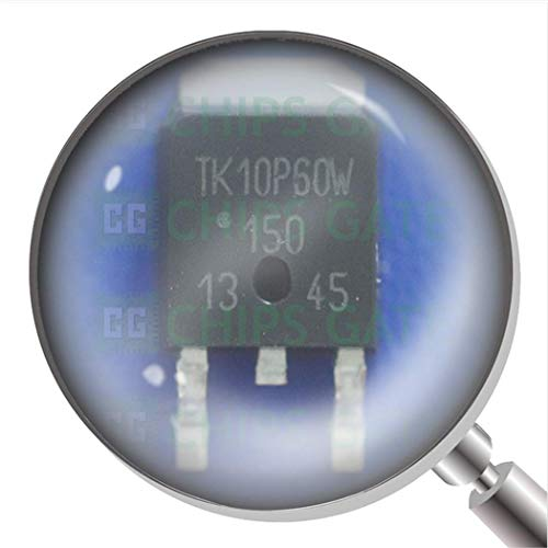 2Pcs TK10P60W,Rvq Mosfet N Ch 600V 9.7A Dpak TK10P60W 10P60 Tk10P60