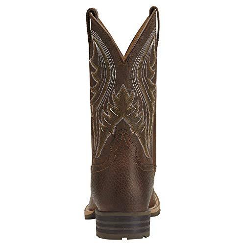 ARIAT - Chaussures Western Western pour Hommes travaillant dans Un Ranch Hybride, 44 M EU, Brown...