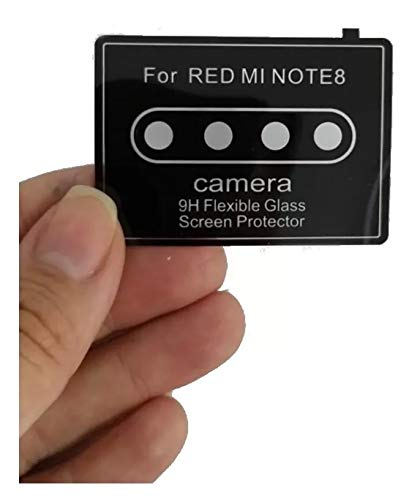 Película Nano Gel Flexível P/Lente de Câmera Xaomi Redmi Note 8