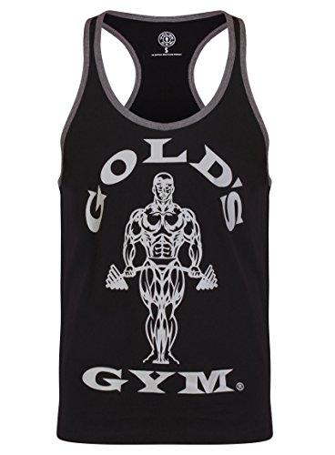 Gold/'s Gym Tank Top T-Shirt Bodybuilding Fitness Canotta Training Palestra Men