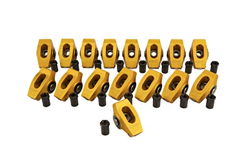 """Gold Race Wide Rockers w/ 1.5 Ratio for 7/16"""" Stud Chevrolet 262-400 Small Block"""