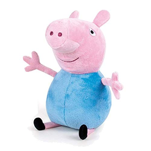 JT Peppa Pig Pupazzo Peluche Peppa Wutz - George...