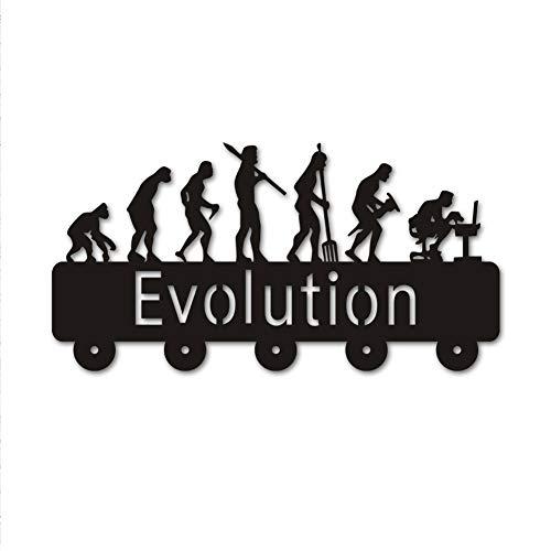 HSWYJJPFB Percheros Pared Perchero Entrada Recibidor Motocicleta Deporte Colgador de Puerta Docor Novedad Creativa Percha de Madera Ropa Sombrero Clave Gancho/Perchero/Gancho de Pared Decor