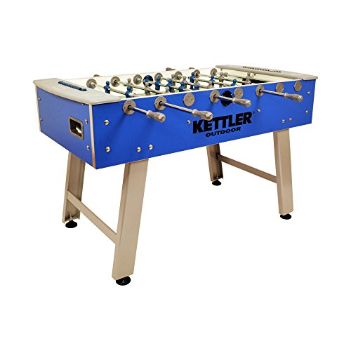 Kettler Weatherproof Outdoor/Indoor Soccer/Foosball Game Table