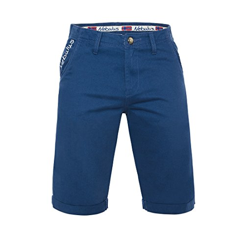 Nebulus T188 - Chino Short DEEP (Model: Q2142 - Herren, Denim_blau; Größe: S)