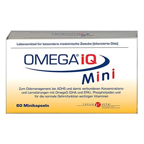 FORUM VITA Omega iQ Mini Kapseln, 60 St. Kapseln