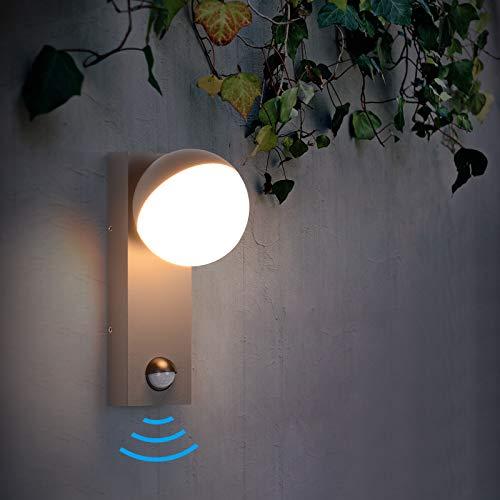 Elitlife - Lámpara LED para exteriores con detector de...