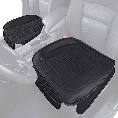 Black Panther 3D Breathable Mesh Comfortable Seat Cushion Covers with Lumbar Support Black- 1 Pack Fits Small Compact Car Seats or Office Chairs
