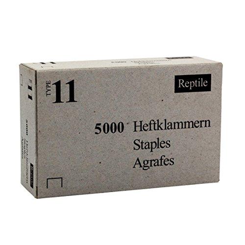 Rapid 11908170 Industrie Flachdrahtklammer Typ 11(140)/8mm, 5.000 St. Schachtel