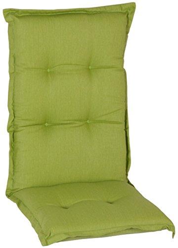 Beo Saumauflage/Sitzkissen für Hochlehner: 46x114 cm ca. 7 cm dick (grün)