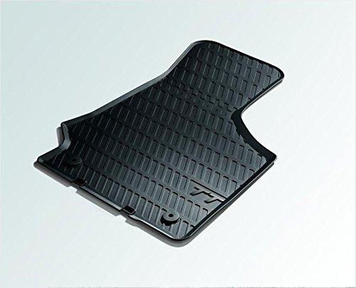 Audi 8J1061501A041 Gummifußmatten vorne schwarz TT 2 Stück