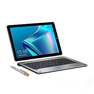 CHUWI Hi10 X Tablet PC 10.1 Pulgadas Windows 10 Sistema operativo (Intel Gemini-Lake N4100) Quad-Core hasta 2.4GHz 1200 * 1920IPS 6GB RAM + 128GB ROM, WiFi (con Teclado y lápiz)