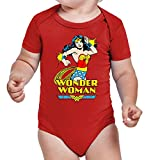 The Fan Tee Body de NIÑO Varios Comic Wonder Woman 001 9Meses